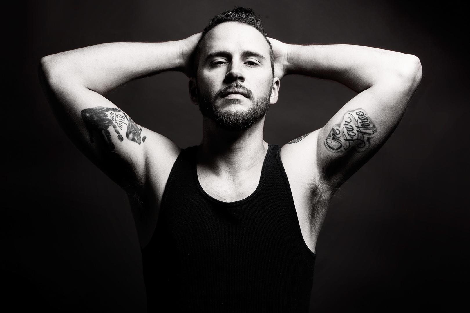 Male Studio Portrait - Ryan