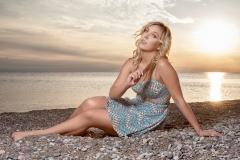 Windsor Portrait Photographer - Sunset Beach Portrait