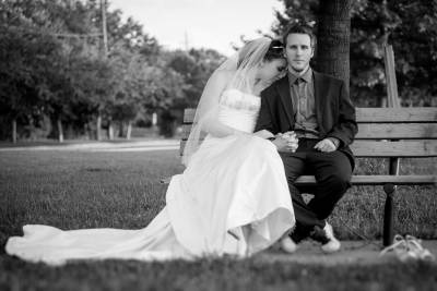 Bride and Groom - Location Portrait