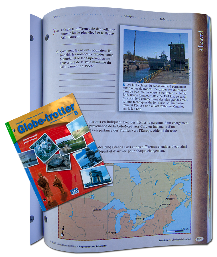 Globe-trotter - French language Textbook