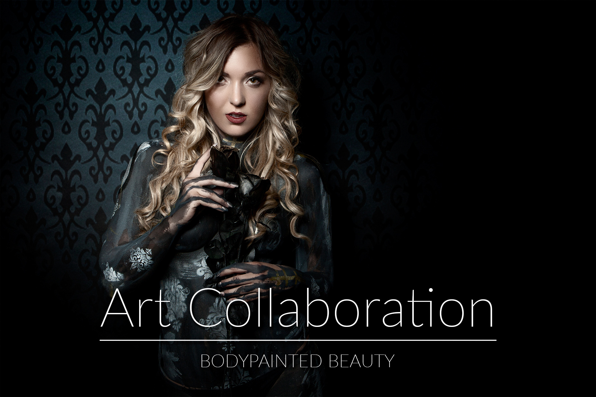 Art Collaboration - Bodypainted Beauty