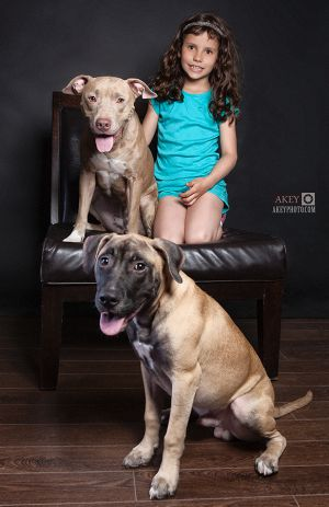 Portraits - Kids %26 Dogs - Phoenix, Fawkes and Faith