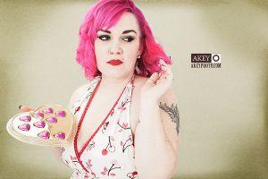 Heather Kemp - Pinup 3123 - by Ray Akey
